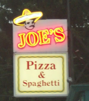 Joe's Pizza, Northampton, MA